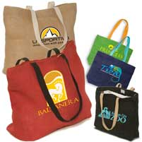 Eco Jute Shopping Totes