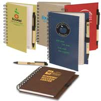 Eco Safe Pen Notebook Combo