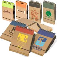 Green-Eco Pocket Note Takers