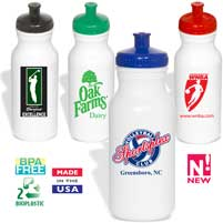 Recycled Squeeze Water Bottles